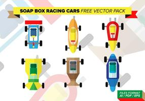 Soap Box Racing Cars Free Vector Pack