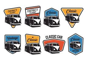 Gratis Classic Badge Vector
