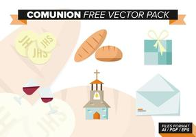 Kommunion Free Vector Pack