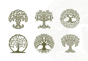 Celtic Tree Vector Pack Vol. 4