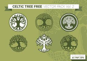 Celtic Tree Free Vector Pack Vol. 2