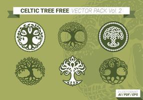 Keltischen baum free vector pack vol. 2