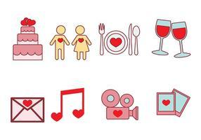 Icono de vector de Casamento