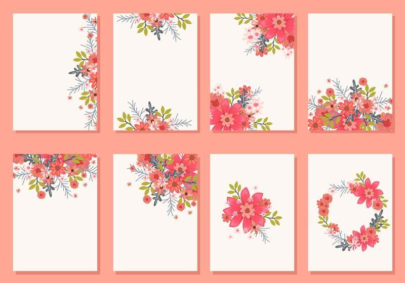 Invitation free vector art 3175 free downloads floral wedding invitation card vectors stopboris Gallery