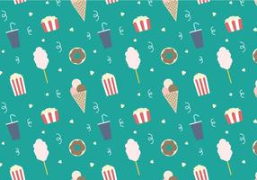 Freier Popcorn Vektor 2
