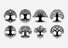 Keltische Baumvektoren