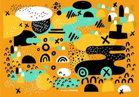 Abstrakt ekologisk bakgrundsvektor