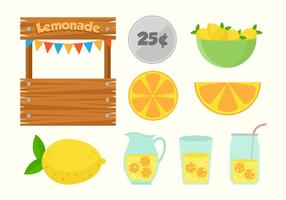 Free Lemonade Stand Vectors