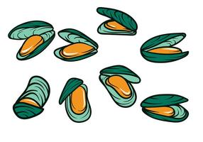 Mussel Vector Icon