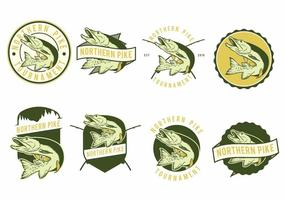 Pike Fish Badges