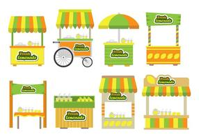 Lemonade stand icons