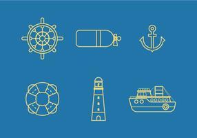 Vettore nautico libero 2