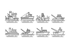 Free Tugboat Vector