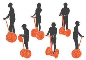 Segway Silhouettes