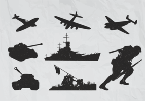 World War 2 Plane Vectors