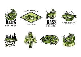 Largemouth bas vector