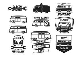Classic Cars Vintage Label