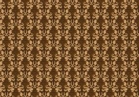 Free Vector Brown Western Flourish Pattern