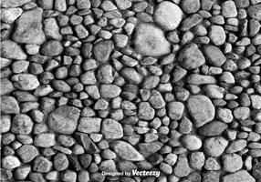 Fondo de vector de piedra gris