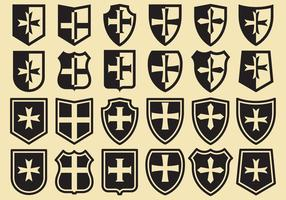 Escudos Templários