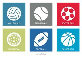 Sportbal Icon Set