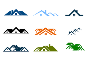 Free Rooftops Logo Vector
