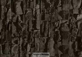 Struttura della parete di pietra - fondo di vettore