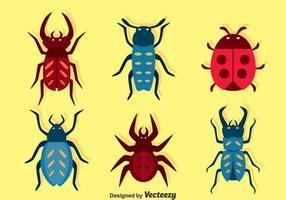 Insecten instellen vector