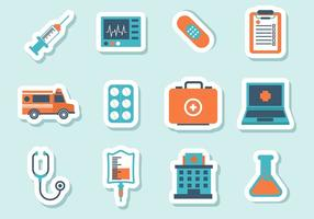 Iconos Médicos Gratuitos Vector
