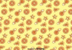 Natale Ginger Bread Seamless Pattern