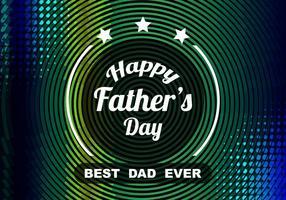 Fundo colorido colorido da celebração do dia do pai do vetor livre