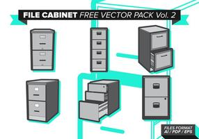 File Cabinet Gratis Vector Pack Vol. 2