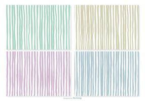 Hand Drawn Stripe Patterns vector