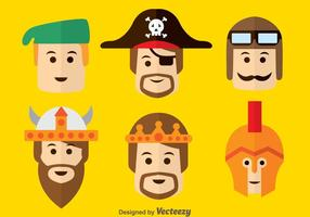 Medieval Character Vector