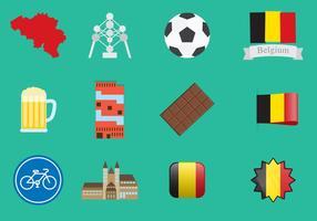 Belgien ikoner