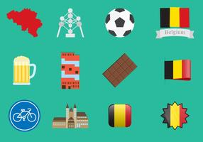 Belgium Icons