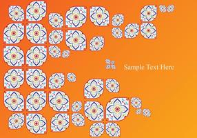 Portuguese Tile Abstract vector