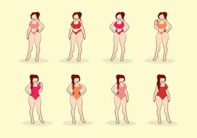 Gratis Girl Plus Size Vector