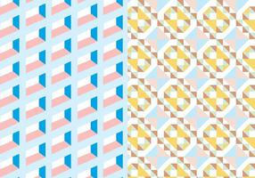Pastellfärgad geometrisk mönster