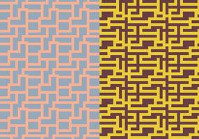 Labyrint geometriskt mönster