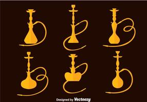 Hookah Collectie Vector
