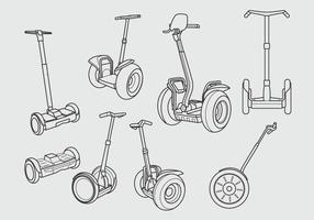 Free Segway Icon Design