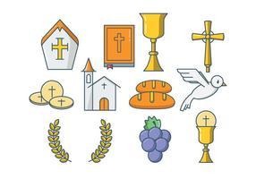 Vector Eucaristía Libre