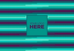 Free Vector Teal Logo Background
