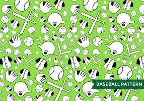 Vecteur de motif de baseball