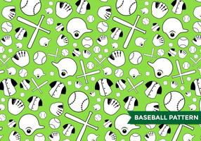 Vector de patrón de béisbol
