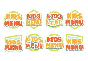 Gratis Kids Menu Labels