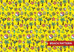 Beach Pattern Vector