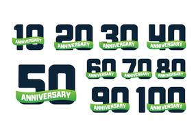 Free Anniversary Years Vector