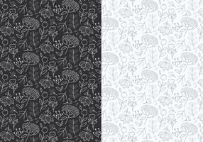 Outline-plants-pattern